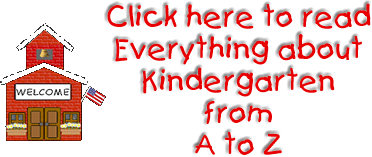 Everything about kindergarten