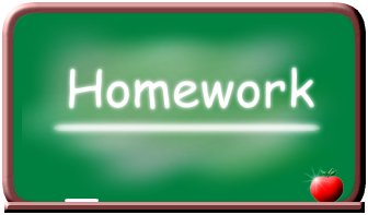Homework_green_board_clipart_1