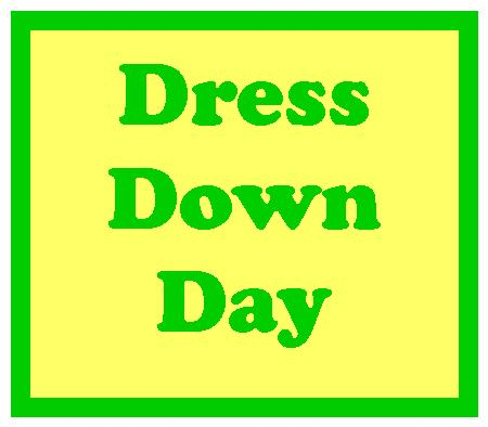 Friday dress down day image