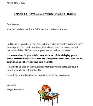 Expert Extravaganza Display Homework