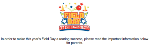 Field Day Parents